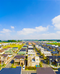 地盤トラブルのない豊かな住宅環境