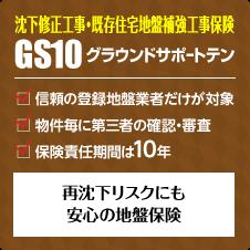 沈下修正保険「GS10」